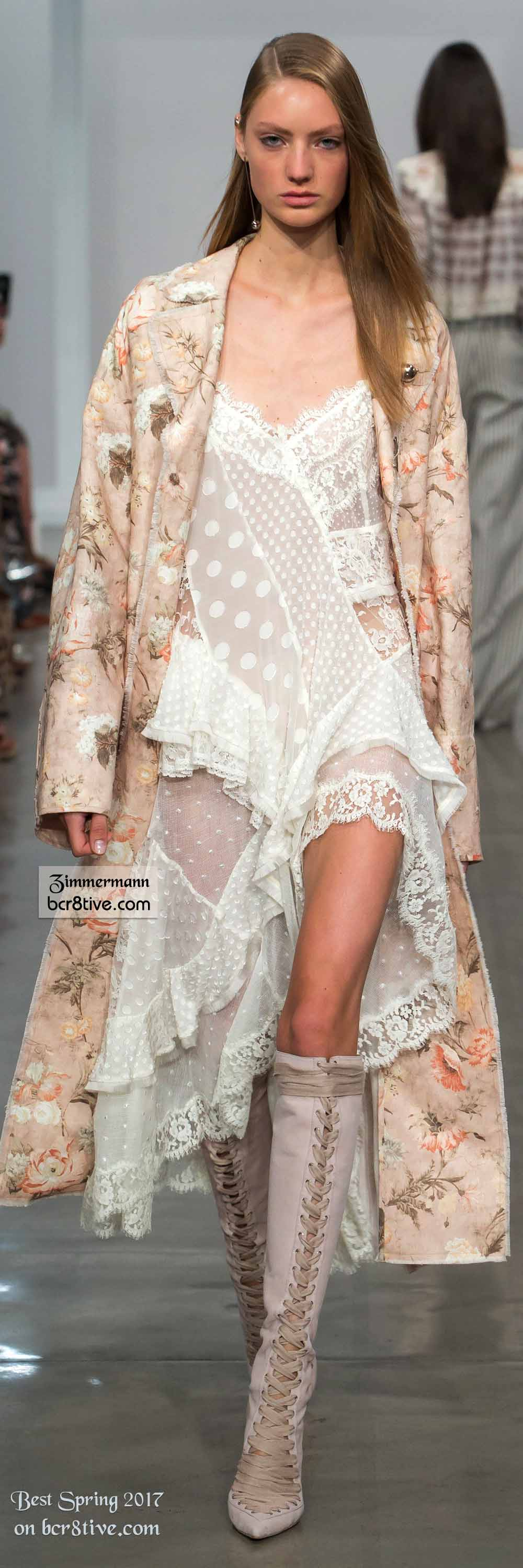 Zimmermann - The Best Looks from New York Fashion Week Spring 2017