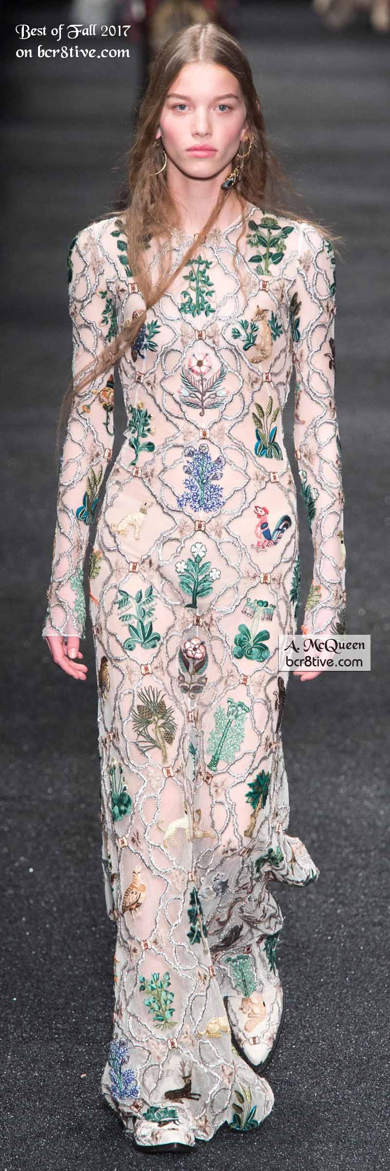 Alexander McQueen Fall 2017