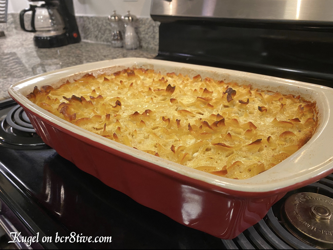 Noodle Kugel with Crushed Pineapple