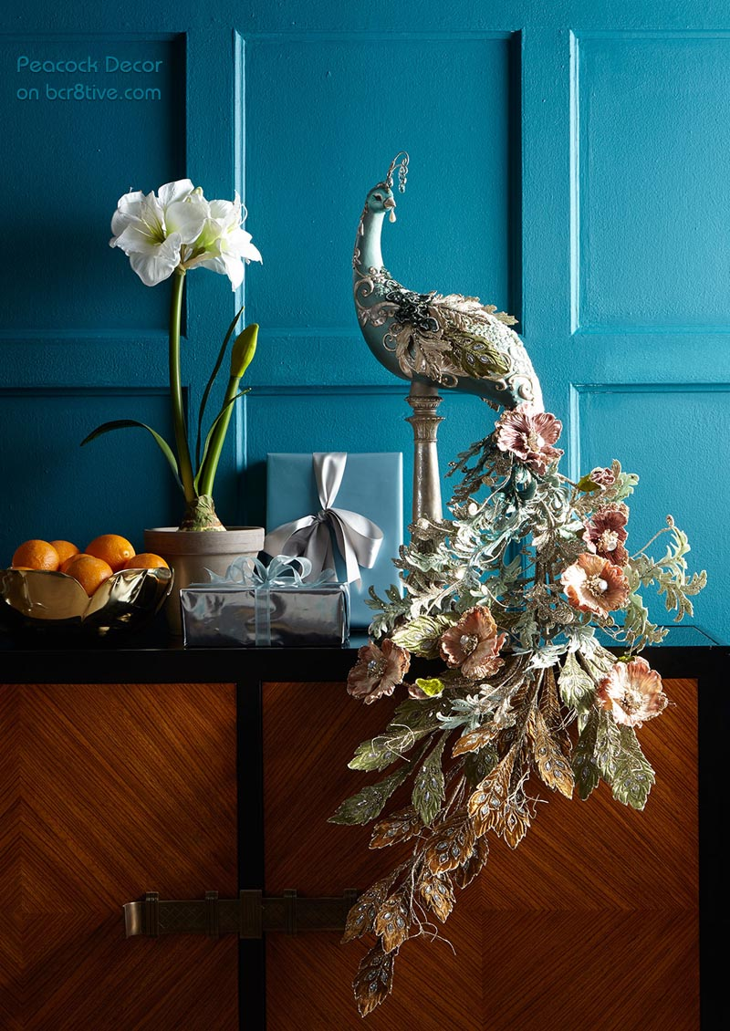 Katherine's Collection Chloe Peacock Figure