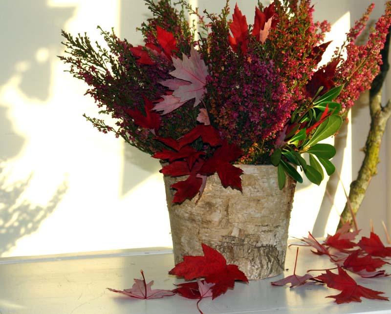 Birch Bark Vases MalvinaArt