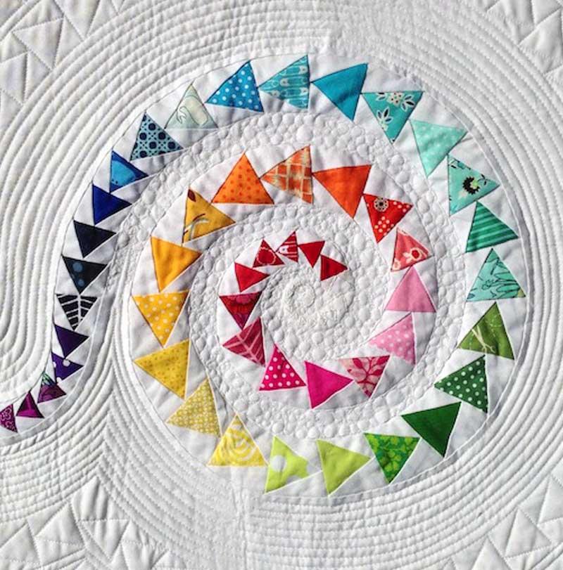 Janice Ryan - Spiral Geese Close-up